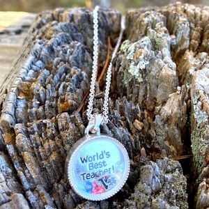Teachers Necklace Great Gift to show Appreciation